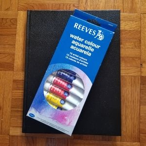 🎨Reeves watercolour and art book